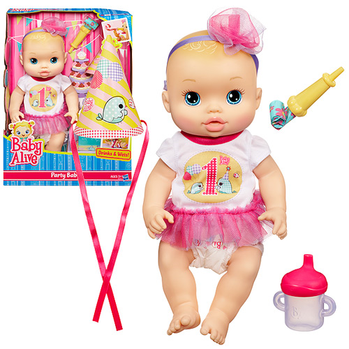 Baby Alive Party Baby Doll Blonde