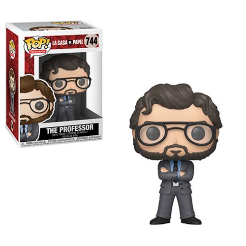 La Casa De Papel The Professor Pop! Vinyl Figure #744