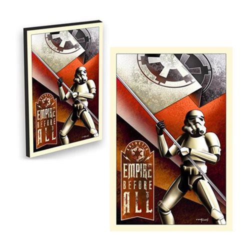 Star Wars Empire Before All by Mike Kungl Canvas Giclee Gallery-Wrapped Art Print