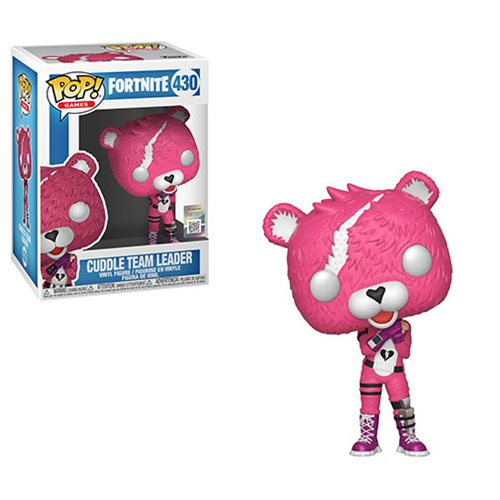 Fortnite Cuddle Team Leader Pop! Vinyl Figure #430, Not Mint