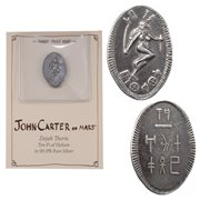 John Carter of Mars Dejah Thoris Silver Ten Pi Coin