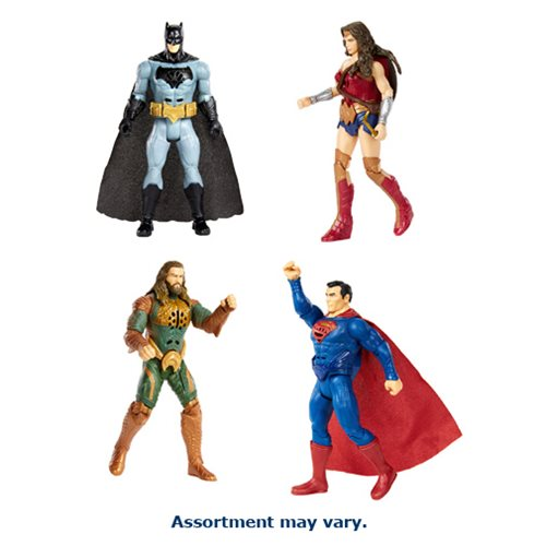 Justice League Movie 6-Inch Deluxe Action Figure Wave 1 Case