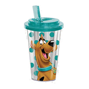 Scooby-Doo 16 oz. Flip-Straw Travel Cup