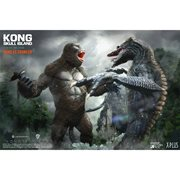 Kong: Skull Island Kong vs. Crawler Deluxe Version Soft Vinyl Figure Set