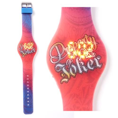Suicide Squad Property of Joker LED Watch