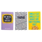 Friends Soft Cover Journals Set of 3