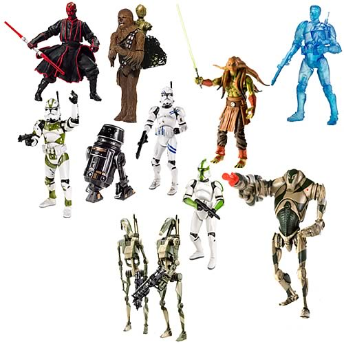 Star Wars Saga Figures Wave 8