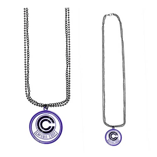 Dragon Ball Z Capsule Corp Necklace