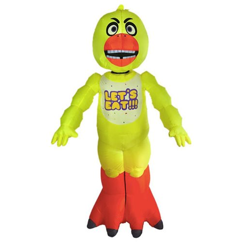 Five Nights at Freddy's Animated Inflatable Chica Decoration