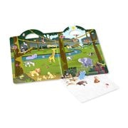 Melissa & Doug Safari Puffy Sticker Play Set