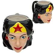 Wonder Woman Ceramic Molded Mug