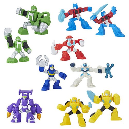 Transformers Rescue Bots Mini-Figures Wave 1 Case