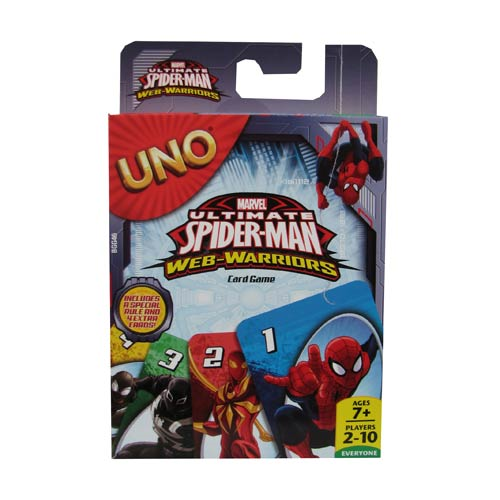 Ultimate Spider-Man Marvel UNO Card Game