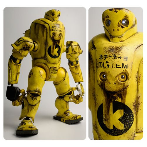 Evenfall TOTEM K Striker Yellow Thug 16-Inch Action Figure