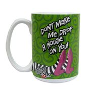 The Wizard of Oz Drop a House on You 14 oz. Ceramic Mug