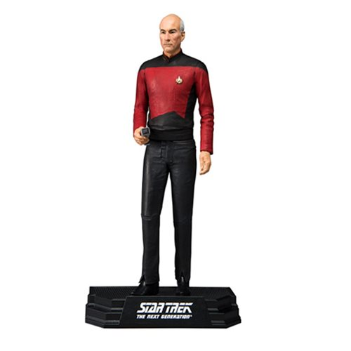 Star Trek Series 1 Captain Jean-Luc Picard Action Figure