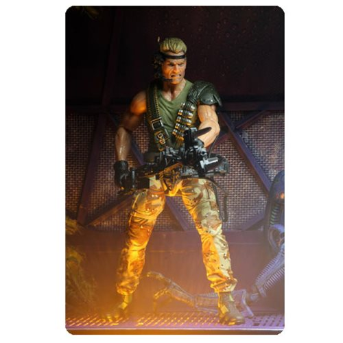 Aliens Space Marine Drake Kenner Tribute 7-Inch Scale Action Figure