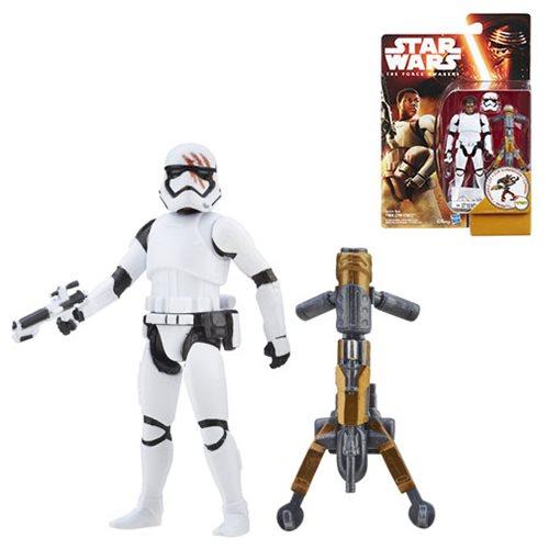 Lego Star Wars Stormtrooper Finn The Force Awakens with Blaster Star Wars Figure