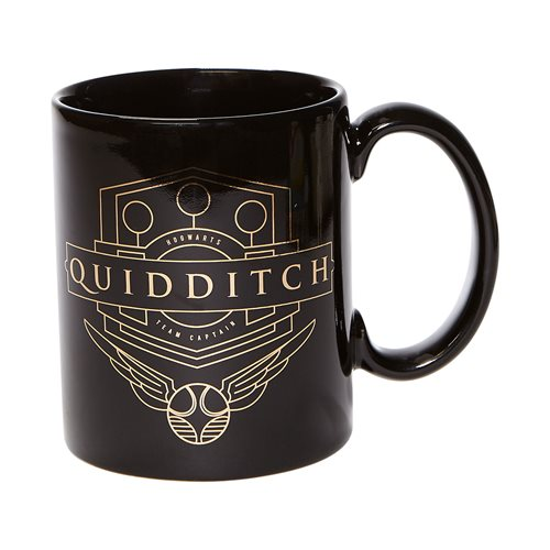 Wizarding World of Harry Potter Quidditch Gold 14 oz. Mug