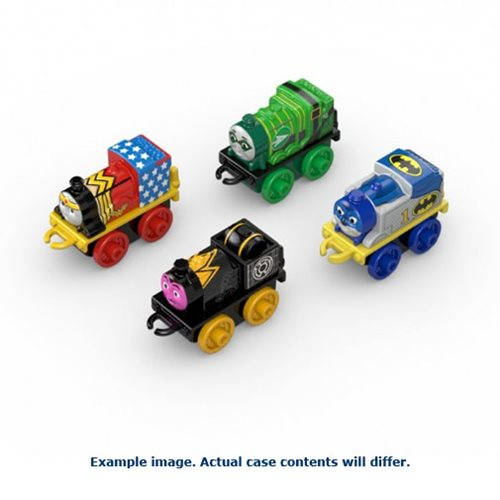 Thomas and Friends DC Super Friends Vehicle 4-Pack Case