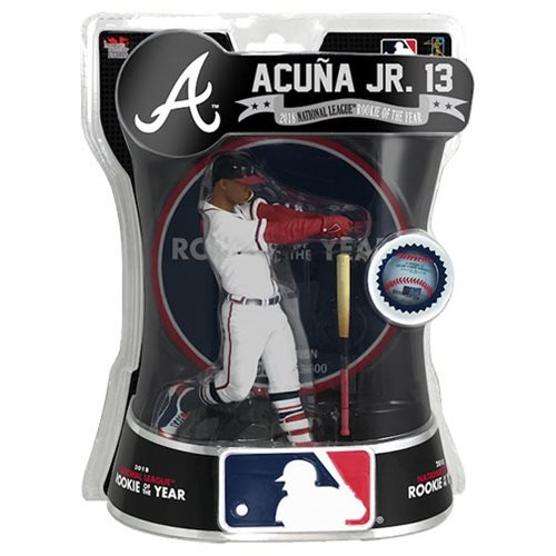 MLB Atlanta Braves Ronald Acuna Jr. Limited Edition 6-Inch Action Figure