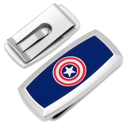 Captain America Cushion Money Clip