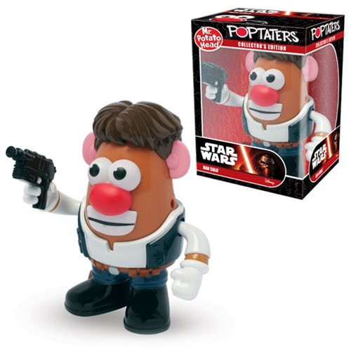 Star Wars Han Solo Poptaters Mr. Potato Head, Not Mint