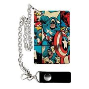Marvel Captain America Comic Grid Wallet