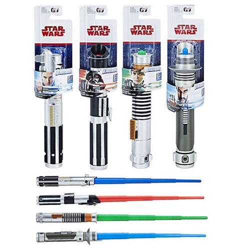 Star Wars: The Last Jedi Extendable Lightsabers Wave 1 Revision 1