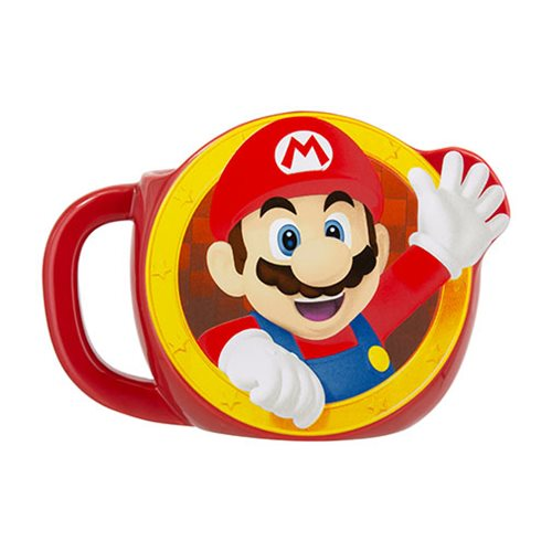 Super Mario Shaped Mug