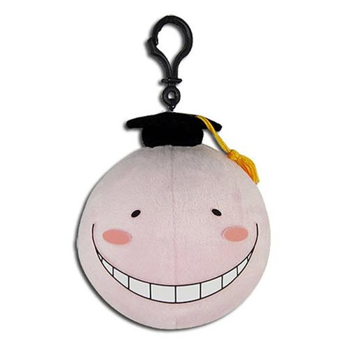 Assassination Classroom Pink Korosensei 4-Inch Key Chain