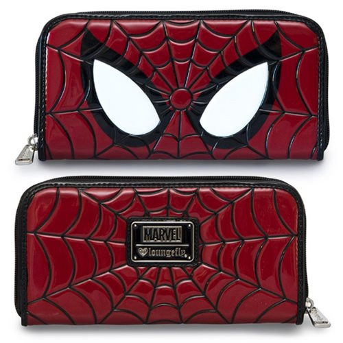 Spider-Man Eyes Zip-Around Wallet