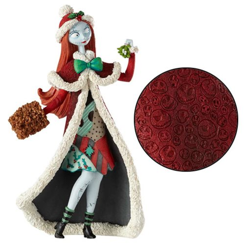 Disney Showcase Nightmare Before Christmas Holiday Sally Couture de Force Statue