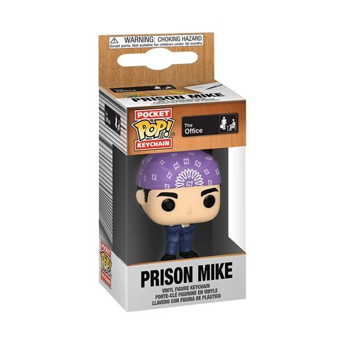 The Office Prison Mike Pocket Pop! Key Chain