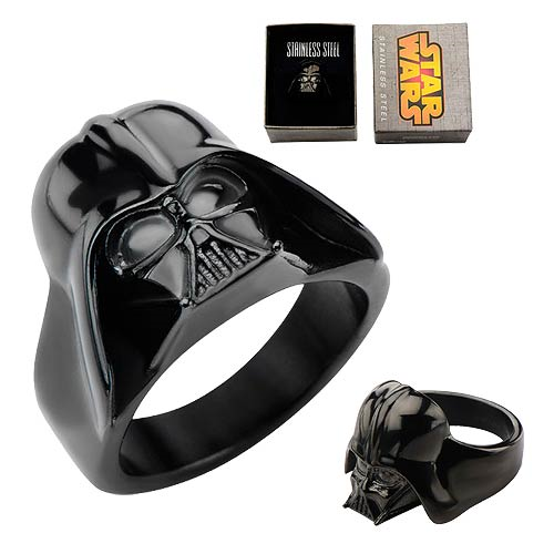 Star Wars Darth Vader 3-D Black Ring