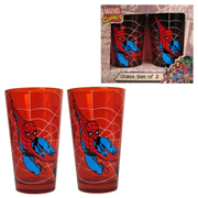 Spider-Man Swinging Red Pint Glass 2-Pack