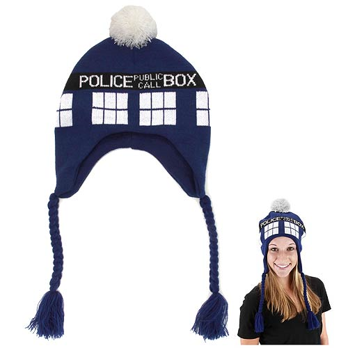 Doctor Who TARDIS Laplander Hat - Entertainment Earth 693e8a9335b