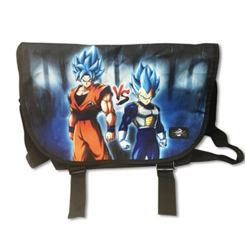 Dragon Ball Fighterz Goku vs Vegeta Messenger Bag