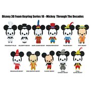 Mickey Through the Years 3D Figural Key Chain Display Case
