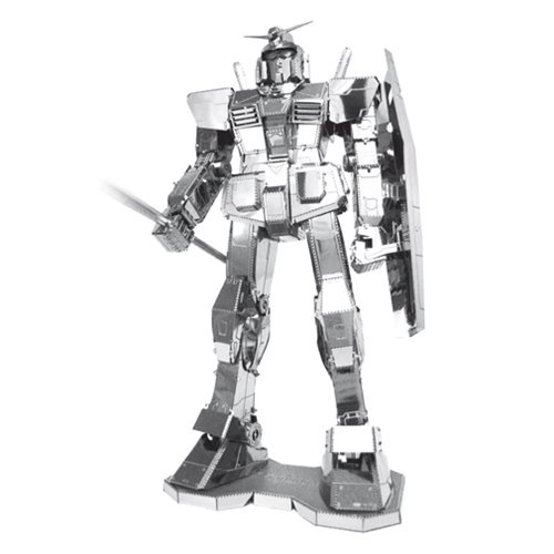 Mobile Suit Gundam Metal Earth Iconx Model Kit