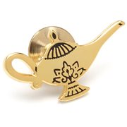 Aladdin Gold Lamp Lapel Pin