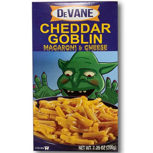 Mandy Cheddar Goblin Macaroni and Cheese