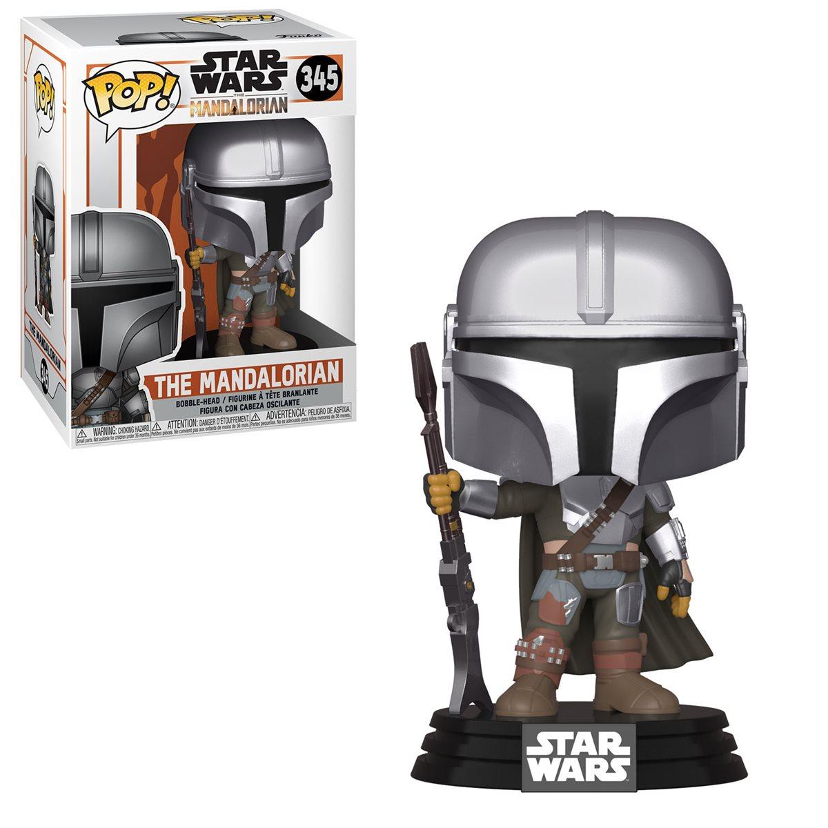 Star Wars The Mandalorian Vinyl Figures IN Stock Funko Pop