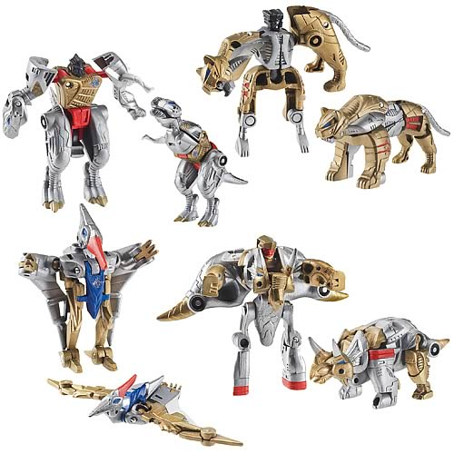 Transformers Dinosaur Mini-Cons Set