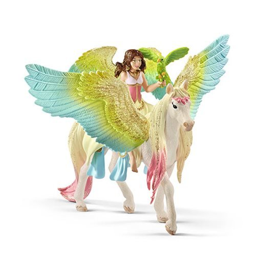 Bayala Fairy Surah with Glitter Pegasus Collectible Figure