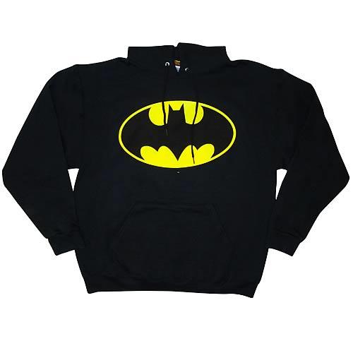 Batman Classic Logo Hoodie - Entertainment Earth 5b5b0d4975d5f