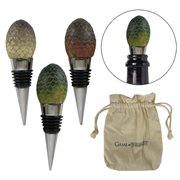 Game of Thrones Dragon Egg Wine Stopper 3-Pack