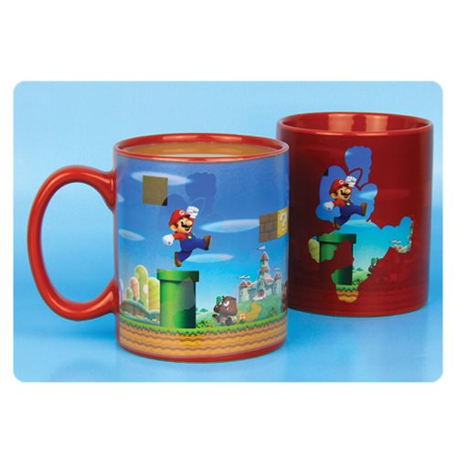 Super Mario Bros. Heat Change Mug