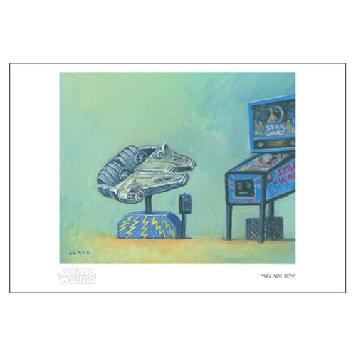 Star Wars Arcade 1979 by Christian Slade Paper Giclee Art Print