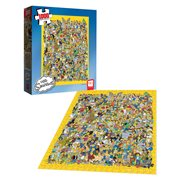 The Simpsons Cast of Thousands 1,000-Piece Puzzle